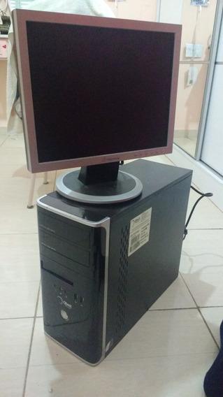 Computador E Monitor Usados Em Ótimo Estado