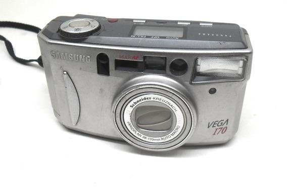 Camera Samsung Vega 170 Panorama Zoom Analógica Leia