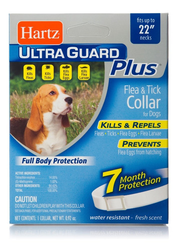 Correa Antipulgas Hartz Ultraguard Plus Importada Usa