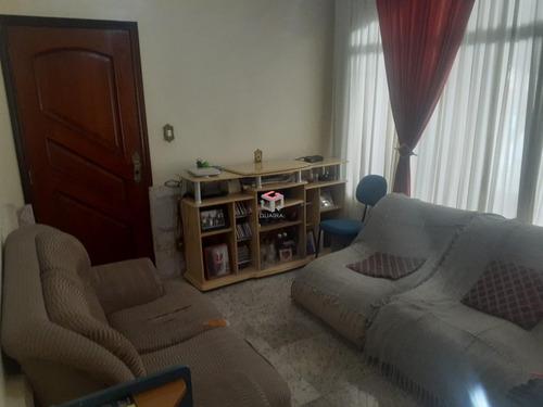 Imagem 1 de 9 de Casa À Venda, 3 Quartos, 1 Suíte, 2 Vagas, Teles De Menezes - Santo André/sp - 98345