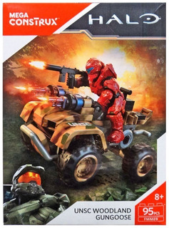 Mega Construx Halo Woodland 95 Piezas Moto Mega Bloks Mattel