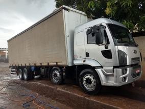 Ford Cargo 2429 Leito Prata 12/13 Sider 155,000