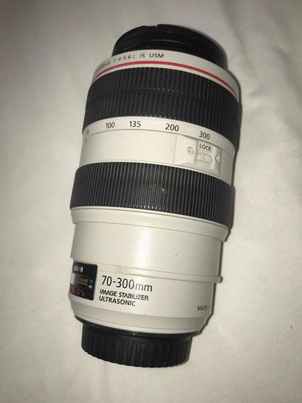 Canon Ef 70-300mm F/4-5.6 L Is Usm Lens - Série L
