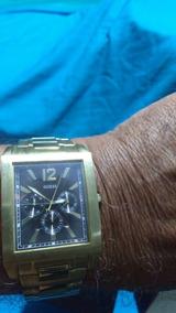 Relógio Guess Plaquê De Ouro