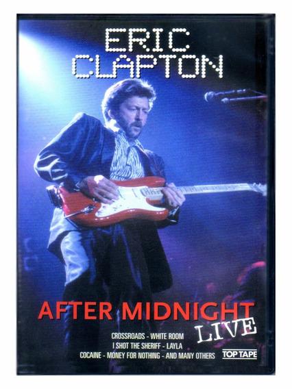 Eric Clapton Dvd After Midnight Live Dvd Orig Novo Lacrado