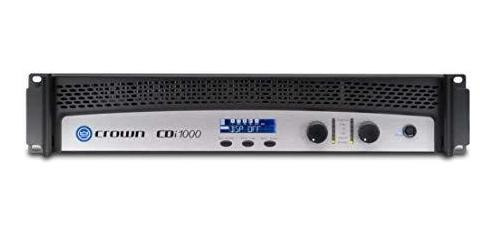Amplificador Crown Cdi 1000 2 Channel Power Amplificador ®
