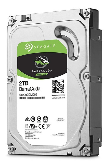 Hd 2tb Interno Pc E Dvr Seagate Barracuda Sata 3 7200rpm