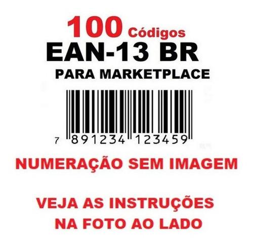 Imagem 1 de 6 de 100 Códigos De Barras Ean13 789 Para Marketplace - Promoção