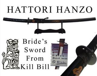 Katana Kill Bill Samurai La Novia De Bill - Con Exhibidor -