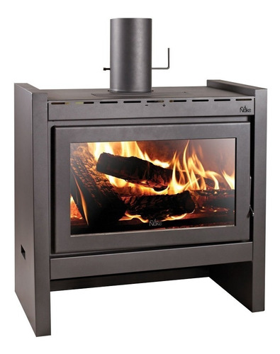Imagen 1 de 3 de Estufa Calefactor  A Leña Ñuke Lapacho 110