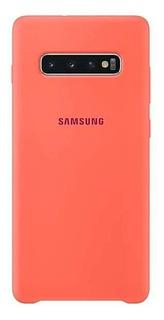 Funda Silicona Original Samsung S10 Plus Pink