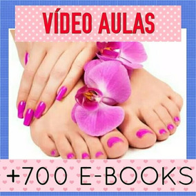 Manicure E Pedicure Completo Vídeoaulas 1 Dvd Diop