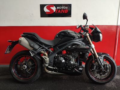 Triumph Speed Triple 1050 Abs 2015 Preta Preto
