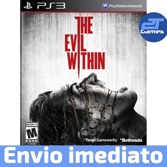 The Evil Within Ps3 Psn Jogo Digital Envio Imediato Original