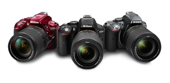 Nikon D5300 24mp Kit 18-55mm Original Lacrada+memoria 32gb