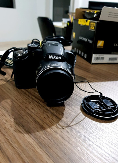 Câmera Nikon Coolpix Semiprofissional Nikon P510 - 42x Zoom