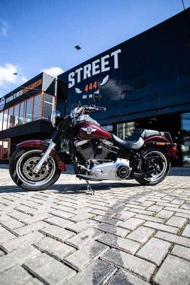Fat Boy - 2017- Vermelho - Harley - Davidson