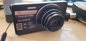Sony Cyber-shot Dsc-w690 16.1 Mp C/10x Zoom 100% Ok