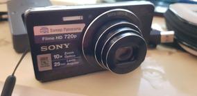 Sony Cyber-shot Dsc-w690 16.1 Mp C/10x Zoom 100% Ok