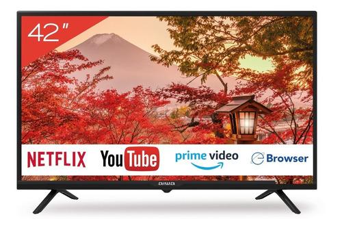 Imagen 1 de 6 de Smart Tv Aiwa Aw-42b4sm Led Full Hd 1080p 3 Hdmi 2 Usb