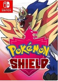 Switch Juego Pokemon Shield(escudo) (fisico, Nuevo, Sellado)