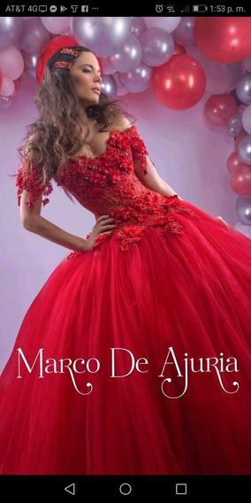 Vestido De 15 Años Del Diseñador Marco De Ajuria