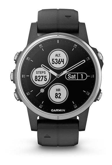 Reloj Smartwatch Gps Garmin Fenix 5s Plus Malla Negra Tienda