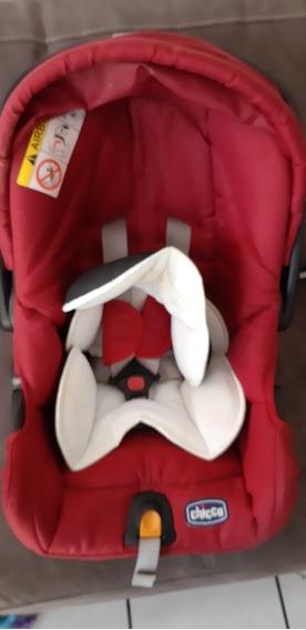 Porta Bebé Marca Chicco, Color Rojo, Muy Seguro.