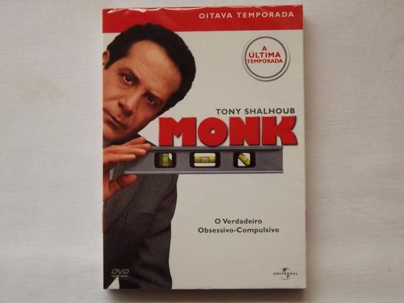 Box Dvd Monk 8ª Temporada Completa - Original - Lacrado