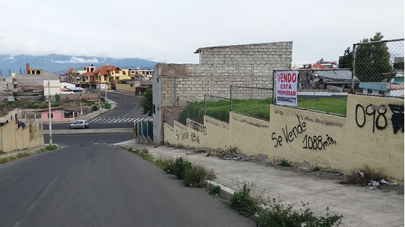 Vendo Hermoso Terreno Sector Seminario Mayor - Ambato