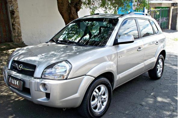 Hyundai Tucson 2.7 Gls 4x4 Automatico Prata 2008 Blindada