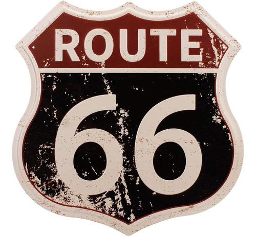 Hantajanss Route 66 - Carteles De Metal Para Decoracion Del