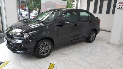 Fiat Cronos Negro Para Taxi Con Gnc - Llave Por Llave
