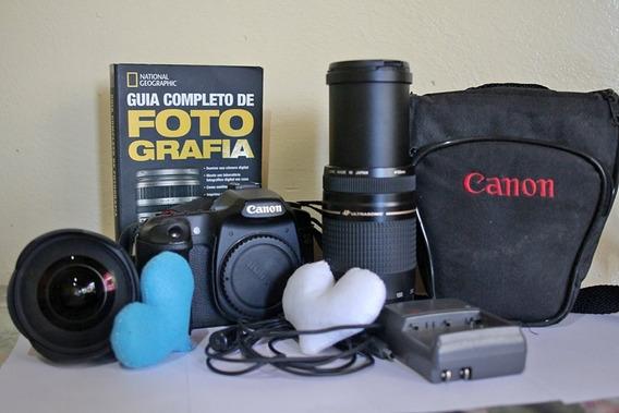 Máquina Fotográfica Canon 40d + Lente 75-300 Original