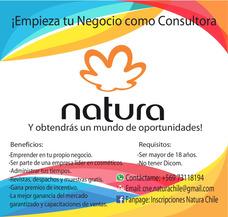 Vendedora Natura, Consultora Natura, Productos Natura