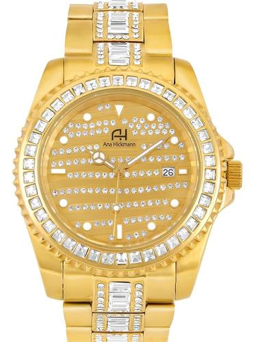 Relógio Feminino Ana Hickmann Ah28197h Barato Garantia