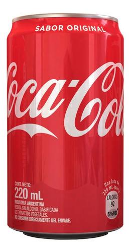 Coca-cola Lata 220cc - Pack X 12 Unidades