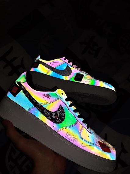 Tênis Nike Af1 Just Do It Refletivo(size 42 -pronta Entrega)
