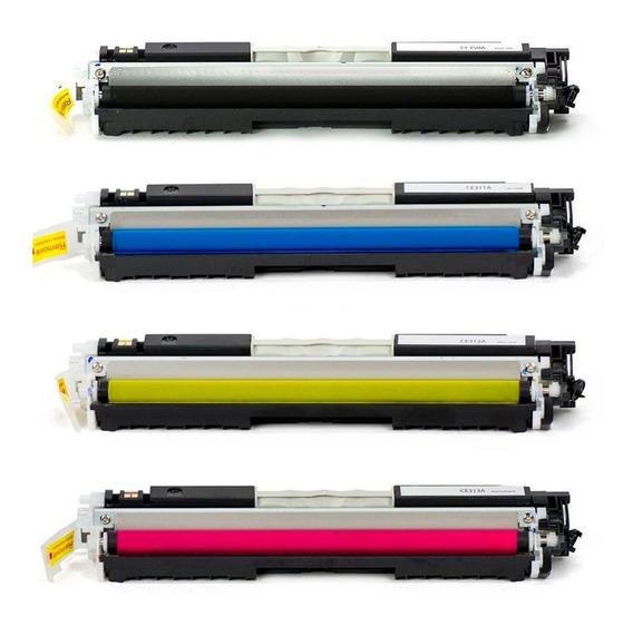 Kit Toner Compatível Marca Premium Para Uso Em Cp1025 1025nw