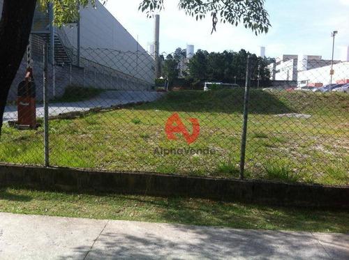Área Para Alugar, 1650 M² Por R$ 18.000,00/mês - Tamboré - Barueri/sp - Ar0082