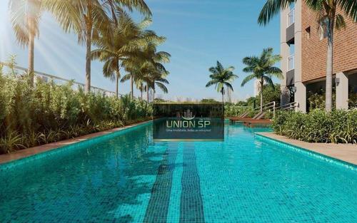Apartamento Com 3 Dormitórios À Venda, 103 M² Por R$ 1.518.800,00 - Brooklin - São Paulo/sp - Ap45255