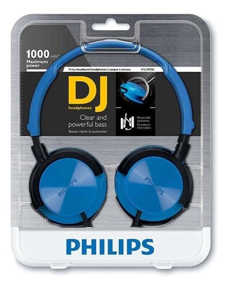 Fone De Ouvido Shl3000 Philips Headphone Dj