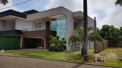 Casa Alto Padrão Em Condomínio Fechado Com 03 Dormitórios. Na Barra - Ca0070