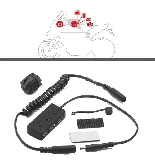 Kit Hub Alimentacion Dispositivos Usb S111 Riderpro Givi ®