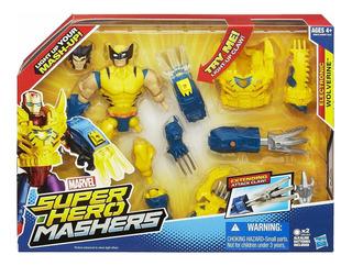Muñeco Wolverine Marvel Super Hero Mashers A6840 Hasbro