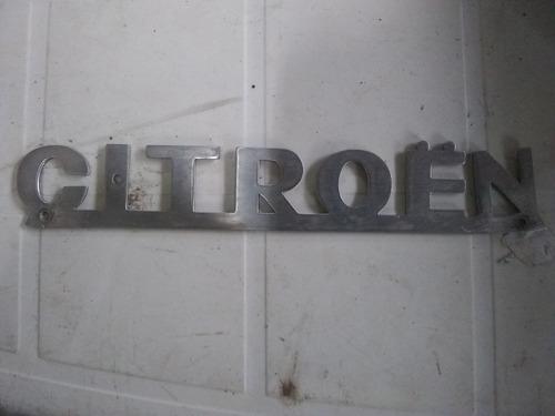 Citroen 2cv 18hp 3cv Insignea Original Baúl