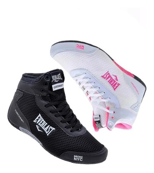 Tenis Bota Everlast Forceknit Boxe Dança Promoção Kit 2 Par