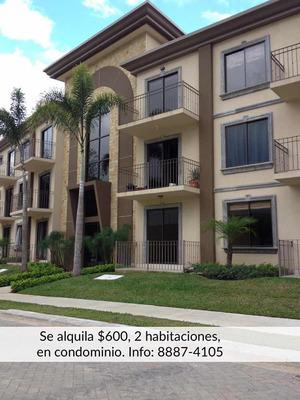 Apartamento En Condominio, 2 Habitaciones