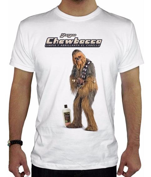 Remera Hombre Chewbacca Inkpronta