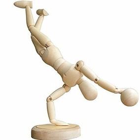 Manequim Articulado Magnético 20cm Para Desenho Boneco Arte
